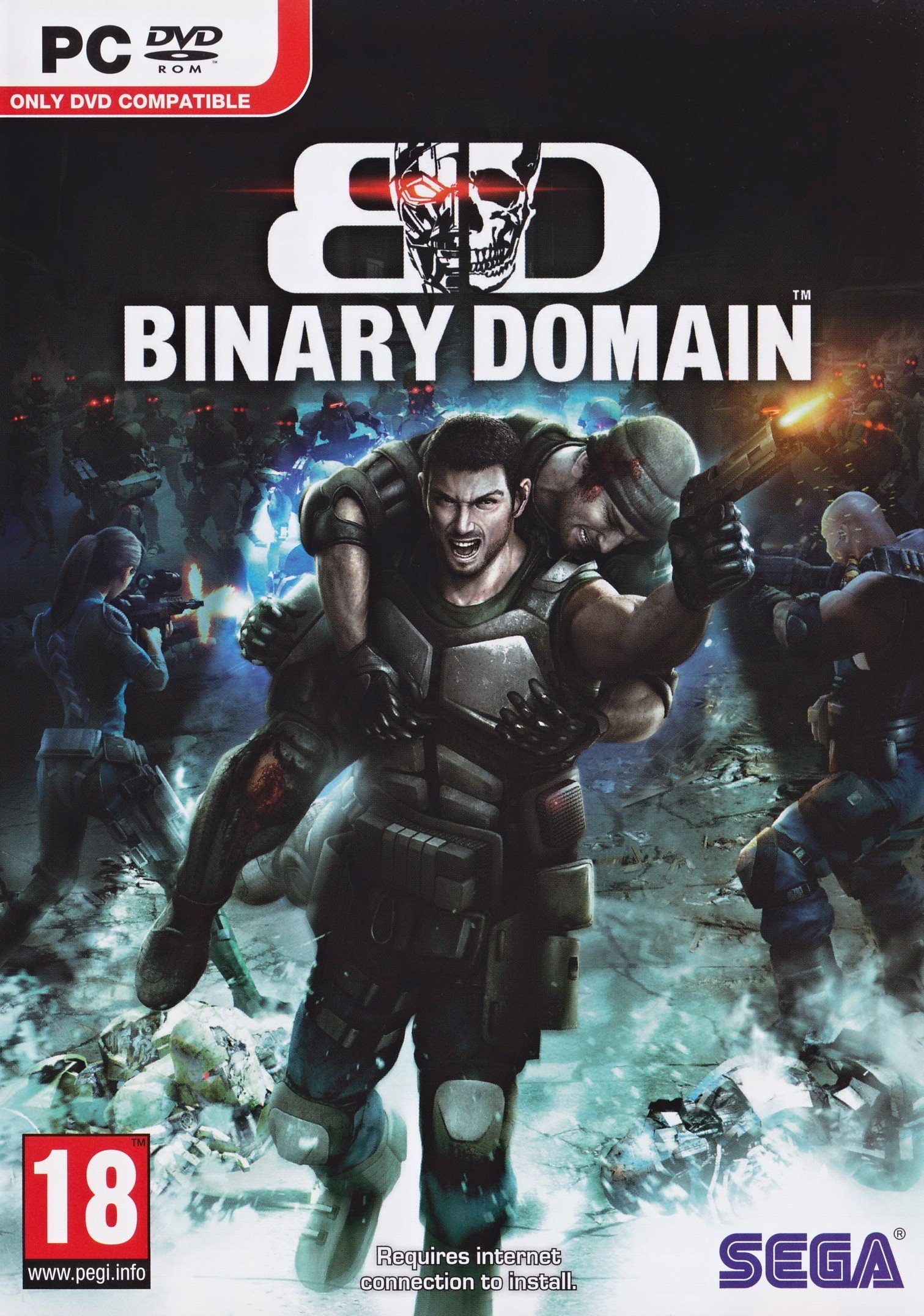 Binary Domain v.1.0.0.1 [Steam-Rip] (2012) PC | Лицензия